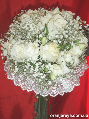 Свадебный букет невесты в Донецке