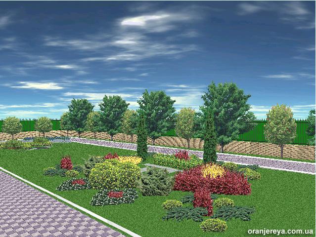 Ландшафтное проектирование с цветниками
