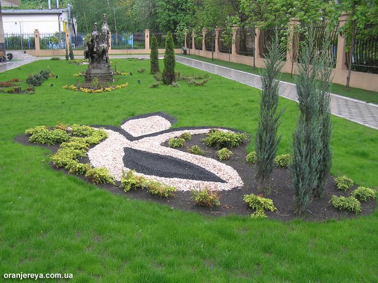 Ландшафтный дизайн газонов