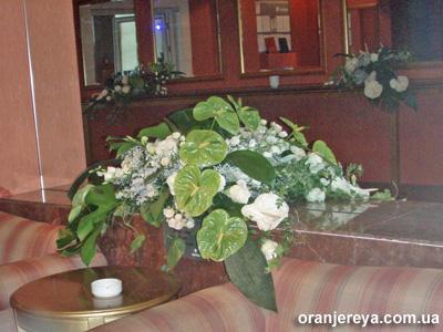 Свадебное оформление зала торжеств